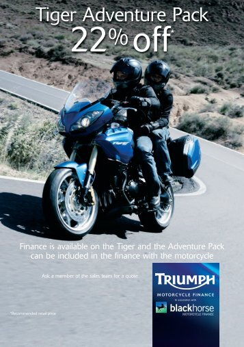 to download the Triumph Tiger offer.