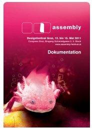 assembly – Designfestival Graz 12. – 15. Mai 2011 60 ...