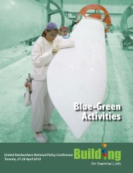Blue-Green Activities - United Steelworkers