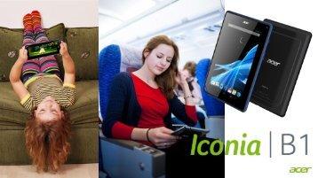 Acer Iconia B1 - Activa