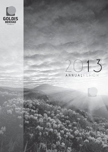 Goldis Berhad Annual Report 2013