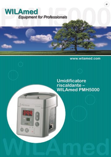 Umidificatore riscaldante – WILAmed PMH5000 - Medisize