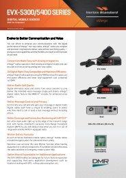 evx-5300/5400 series digital mobile radios - Radiotrans