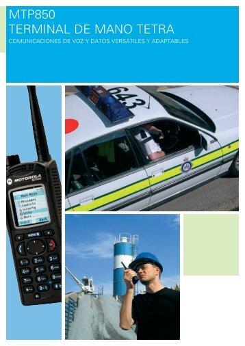 Catálogo MTP850 - Radiotrans