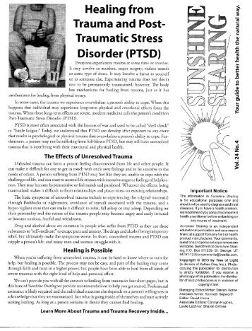 Healing from Trauma and Post- Traumatic Stress ... - Herb Education