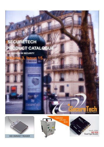 ISECURETECH PRODUCT CATALOGUE Volume 3. Issue 15.
