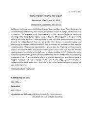 boom and bust again: the sequel - Institute for Public Economics
