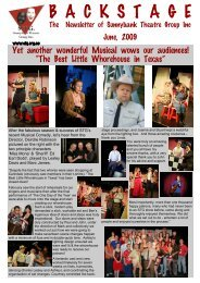 STG Jun 09 FINAL.pub - Sunnybank Theatre Group