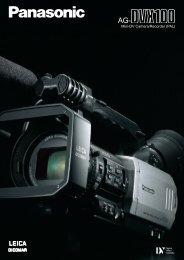 Mini-Dv Camera/Recorder (PAL) - Cinematography Mailing List