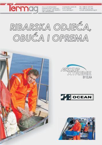 Katalog ribarske odjeće, obuće i opreme 2013-2014 - Termag doo