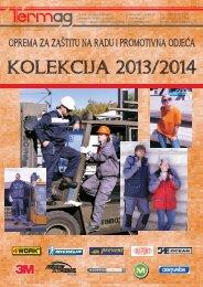 Katalog opreme za zaštitu na radu i promotivne odjeće 2013/2014