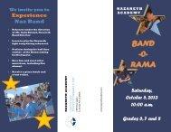 BAND -O- RAMA - Nazareth Academy
