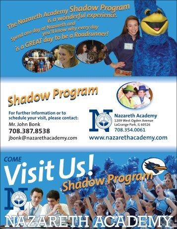 Shadow Program Shadow Program - Nazareth Academy