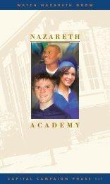 Watch Nazareth GroW - Nazareth Academy
