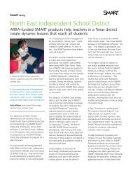 North East Independent School District - SMART Technologies