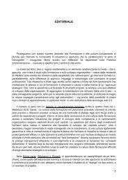 leggi l'editoriale - Dialoghi