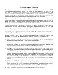 SMART Technologies ULC Contrato de licença de software de ...