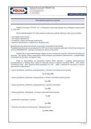 Wykonania niekatalogowe (817 KB) - Polna S.A.