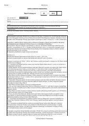 Wniosek Akcjonariusza o umieszczenie określonych ... - Polna S.A.