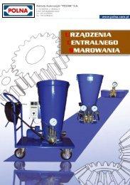 polna_katalog_urzadzen_centralnego_smarowania - pdf - Polna S.A.