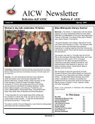 Issue 54 – Spring 2007 - aicw