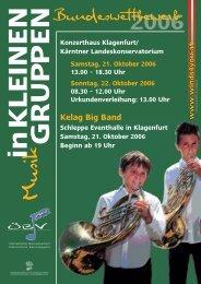 Programm - Österreichische Blasmusikjugend