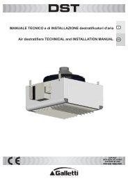 Manuale tecnico e di installazione DST - aplirecon