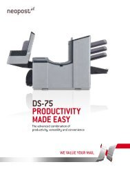 DS-75 PRODUCTIVITy MaDe eaSy