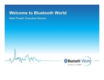 Click to edit Master title style - Bluetooth