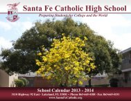 School Calendar 2013-2014 – Printable Version - Santa Fe Catholic ...