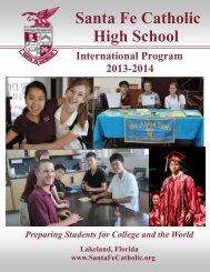 International Program Viewbook and Forms 2013-2014 - Santa Fe ...