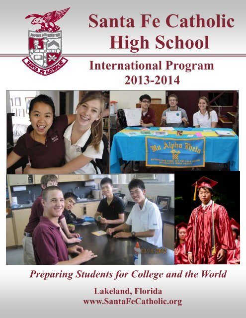 International Program Viewbook and Forms 2013-2014 - Santa Fe ...