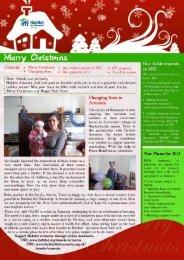 Christmas newsletter 2012 - Habitat for Humanity Armenia