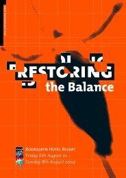 the Balance - Print21