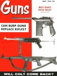 GUNS Magazine May 1956 - Jeffersonian