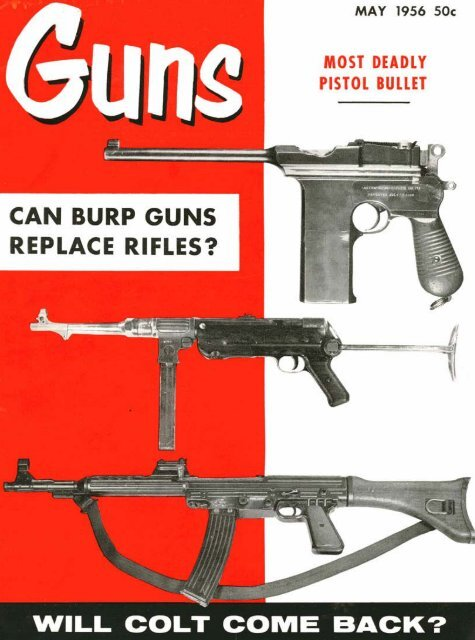 Guns Magazine May 1956 Jeffersonian