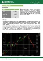 Religare Morning Digest - InvestmentGuruIndia.com