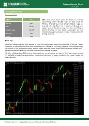 July 18, 2013 - InvestmentGuruIndia