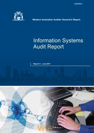 Information Systems Audit Report - Office of the Auditor General ...