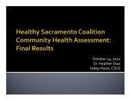 Community Health Assessment slides (PDF) - Sierra Health ...