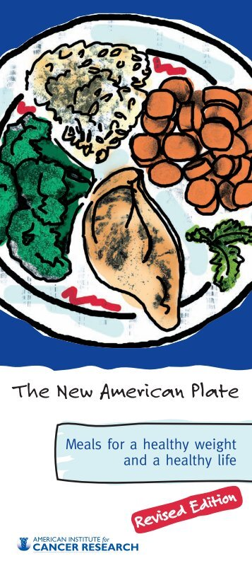 The New American Plate - American Institute for Cancer Research