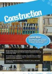 Career Ideas: - Bexley College