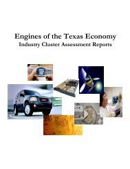 Cluster Initiative Briefing - Workforce Solutions Brazos Valley