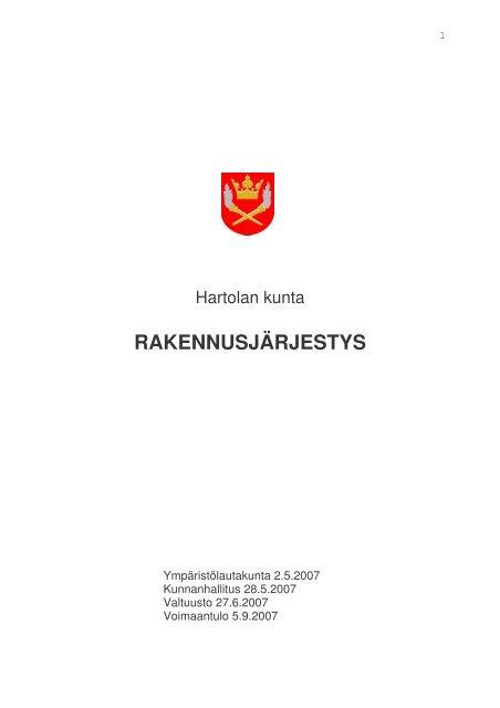 Hartolan kunta - vakuutuslinkki.fi