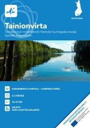 Tainionvirran melontareitillä - Outdoors Finland