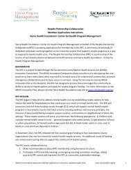 Respite Partnership Collaborative Member Application Instructions ...