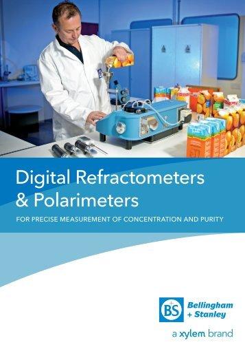 Digital Refractometers & Polarimeters - Lennox Laboratory Supplies