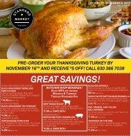 GREAT SAVINGS! - Standard Market