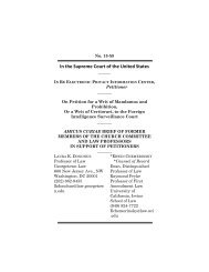 EPIC Amicus Brief - Institute for National Security and ...