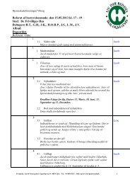 Dagsorden til bestyrelsesmøde 27092011 D - Hjerneskadeforeningen